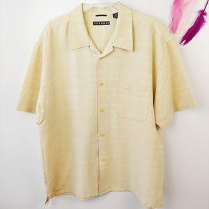 Sz XL I John Henry Short Sleeve Button Down Shirt